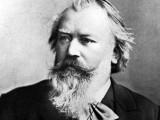 Et gammel foto af Johannes Brahms