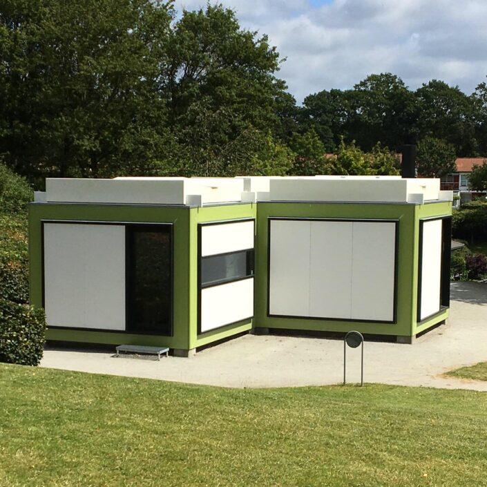 Kubeflex - Arne Jacobsens modulbyggeri