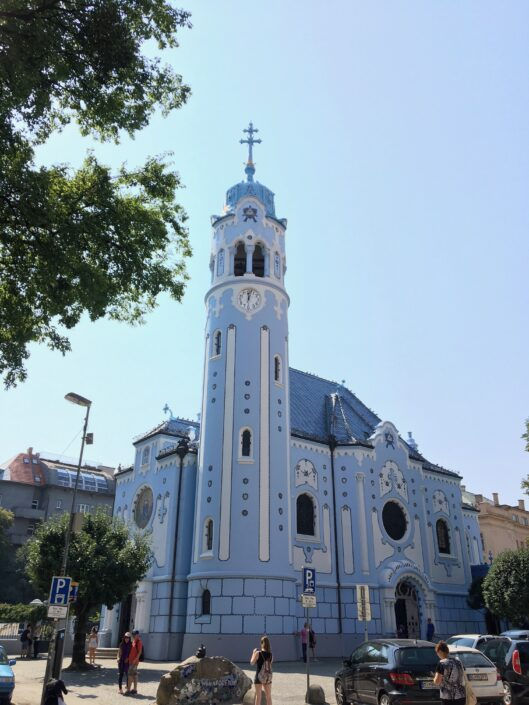Art Nouveau church Bratislava