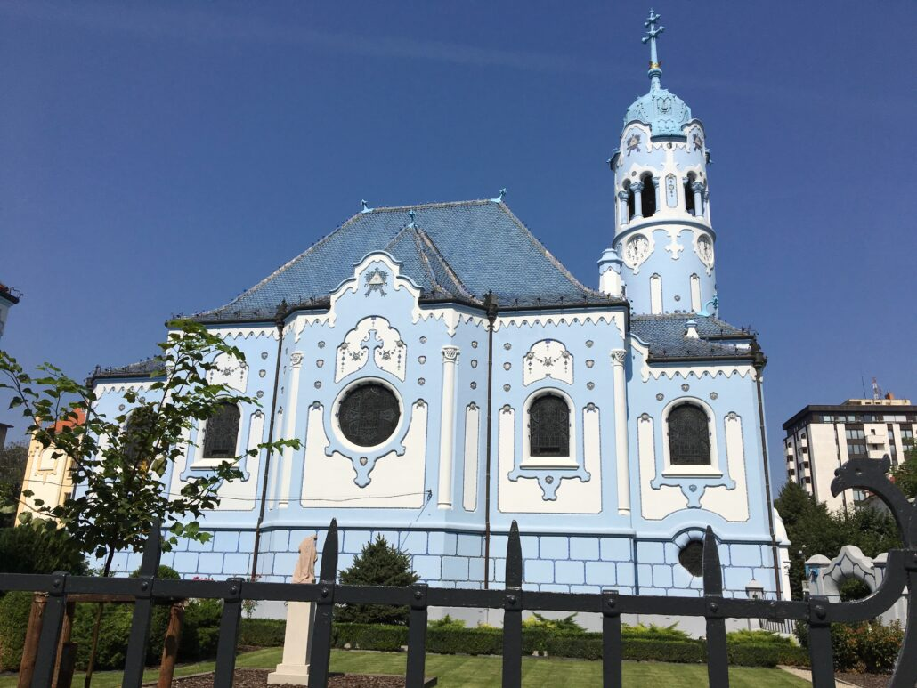 Jugendstil church Bratislava