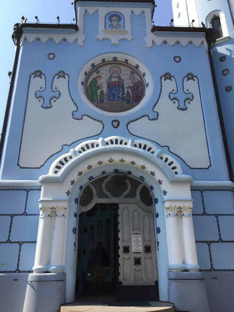 North entrance Blue Church