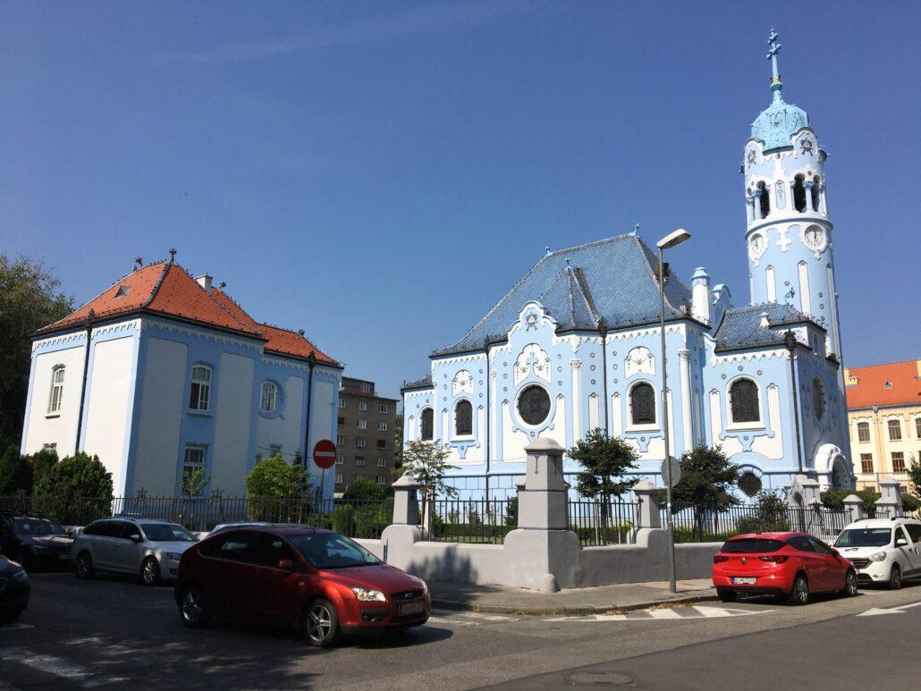Hungarian Church jugendstyle Bratislava