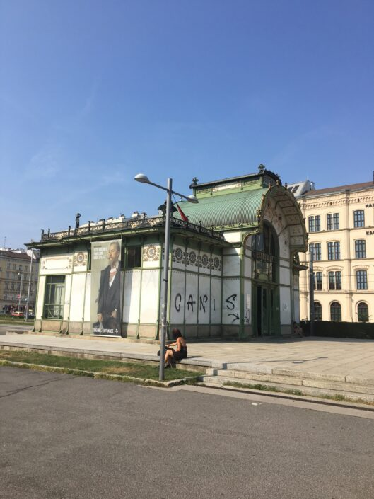 The two Otto Wagner Pavillons
