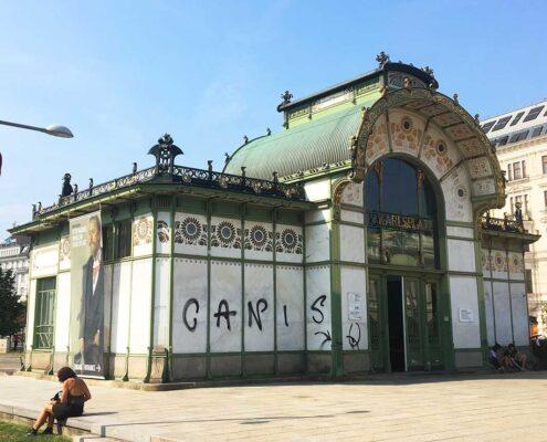 Otto Wagner Karlsplatz jugendstil
