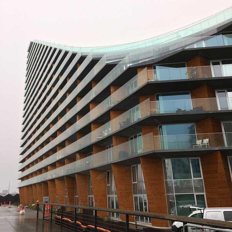 Courtscraper AARHus by Bjarke Ingels Group, BIG.