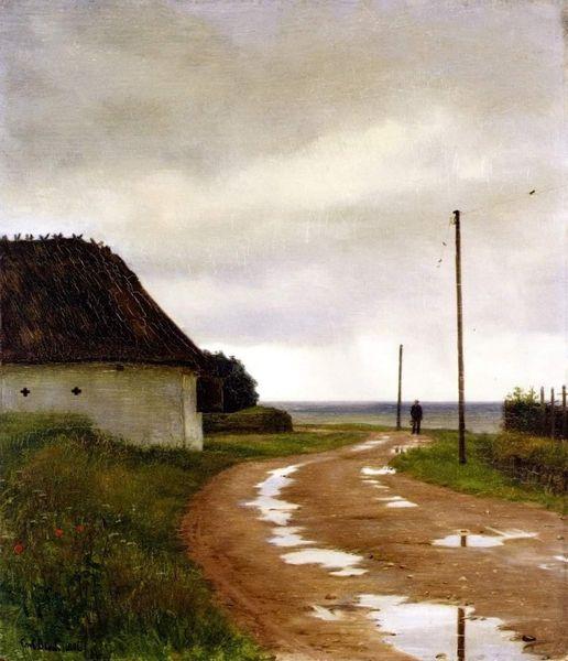 Landskab fra Hellebæk